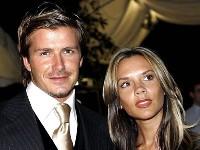 Davis Backham en Victoria Beckham