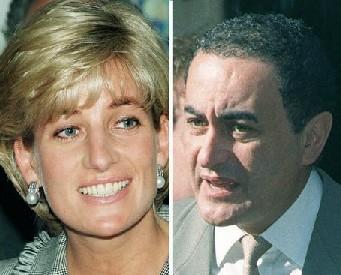 Prinses Diana en Dodi Al Fayed