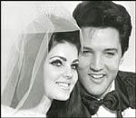 Huwelijk Elvis en Priscilla