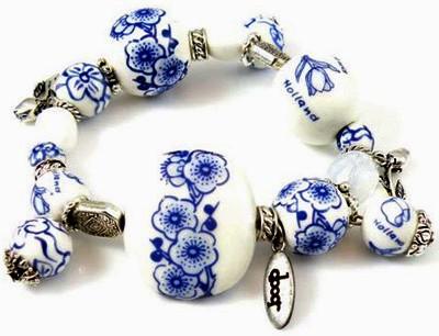 Armband met Oerhollands Delftsblauw