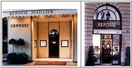 De boetieks van de Franse juwelier Alberto Repossi
