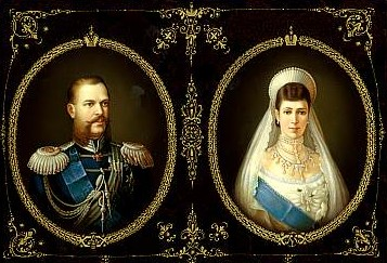 tsaar Alexander III en Maria Fyodorovna