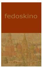 Fedoskino, een oud dorpje op 35 kilometer van Moskou vandaan