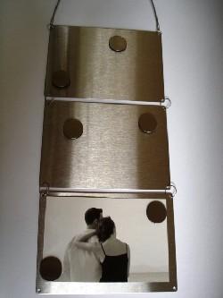 Fotolijst met magneten voor de nieuwe woning