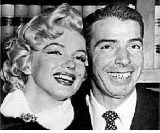 Marilyn Monroe en Joe DiMaggio