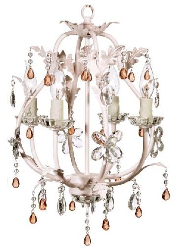 Stella Pink Chandelier van GaGa Designs