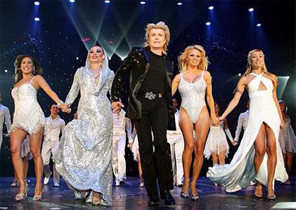 Hans Klok en Pamela Anderson samen in Las Vegas