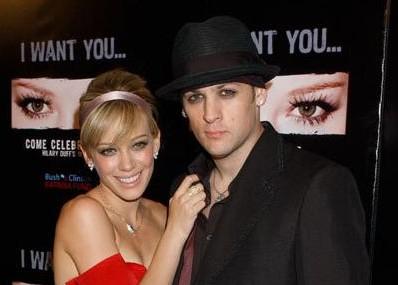 Hilary Duff en Joel Madden