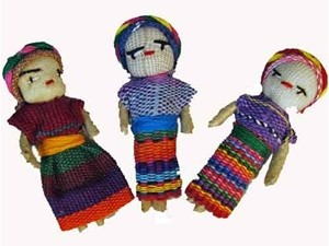 In Guatemala geeft men elkaar Worry Dolls